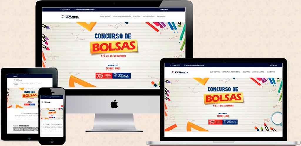 Site: colegiolamarckriopreto.com.br