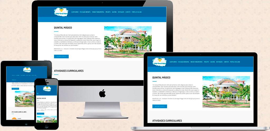 Site: colegioquintalmagico.com.br