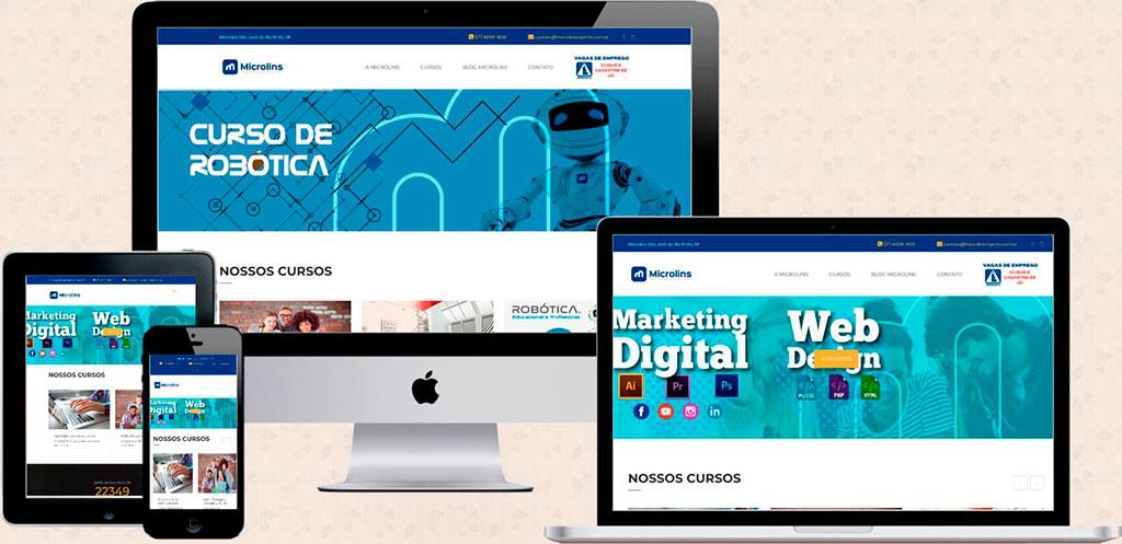 Site: microlinsrio.com.br